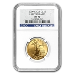 2009 1/2 oz Gold American Eagle MS-70 NGC (Early Releases)